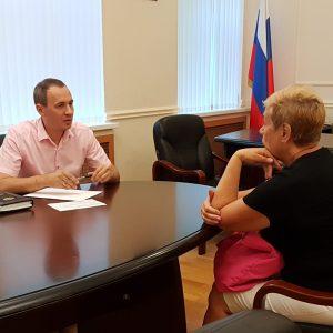 Прием проводили адвокаты коллегии адвокатов Ставропольского края
