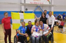 В Ставрополе состоялся второй этап кубка России по парабадминтону
