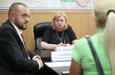 Партийцы провели расширенный прием в Пятигорске