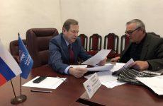В Региональной общественной приемной провел прием граждан Михаил Кузьмин