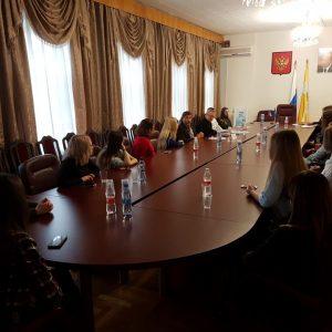 Дмитрий Судавцов встретился со студентами