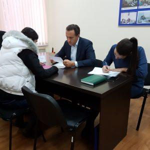 Сергей Галетов провел прием граждан