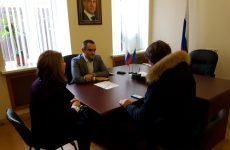 Депутат Думы Ставропольского края Аркадий Торосян провел прием