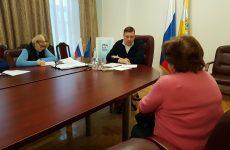Александр Мясоедов провел расширенный прием граждан