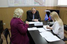 Депутат Думы Ставропольского края Александр Горбунов провел прием граждан