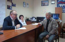 В Петровской местной общественной приемной прошли приемы граждан