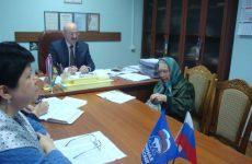 Глава Петровского городского округа Александр Захарченко провел прием граждан
