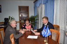 Состоялся прием граждан депутатом Думы Ставропольского края Николаем Мурашко