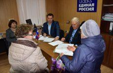 В Шпаковской местной общественной приемной прошел прием граждан