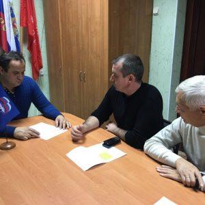 Валерий Черницов провел прием граждан