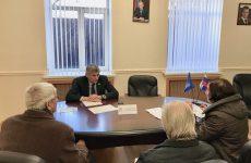 Депутат Государственной Думы Российской Федерации Лавриненко Алексей Федорович провел прием граждан