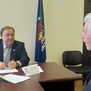 Состоялся очередной прием депутата Думы Ставропольского края Петра Марченко