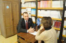 Неделя приема граждан в Андроповском районе завершена