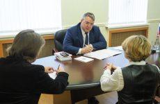 Губернатор Ставропольского края Владимир Владимиров провел прием граждан
