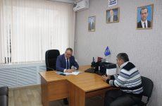 Cостоялся прием граждан по личным вопросам секретарем Ипатовского местного отделения С.Б. Савченко