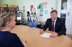 Николай Мурашко встретился с жителями Андроповского района