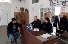 В с. Благодатное депутат провел прием граждан