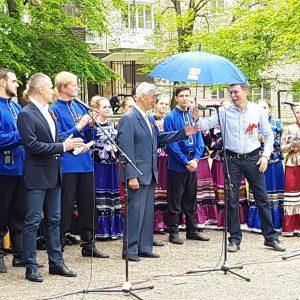 Cостоялись праздничные концерты в рамках общекраевой патриотической акции «Утро Победы»
