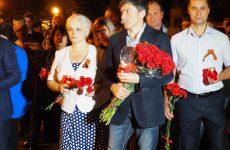 Депутаты Думы Ставропольского края приняли участие в акции «Свеча памяти», приуроченной ко Дню памяти и скорби.