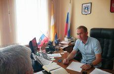 Глава муниципального образования Курсавского сельсовета Александр Гулый провел прием граждан