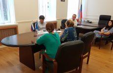 Дмитрий Судавцов провел личный прием граждан