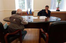 Дмитрий Судавцов провел очередной прием граждан