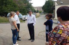Дмитрий Судавцов обсудил текущие вопросы благоустройства с главой Промышленного района