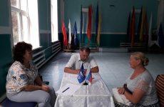Николай Пальцев провел прием граждан в селе Сухая Буйвола