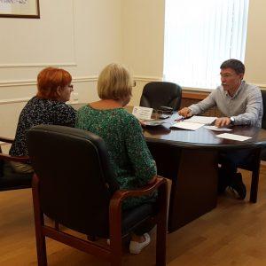 Дмитрий Судавцов провел прием граждан по личным вопросам