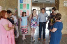 Дмитрий Судавцов посетил СОШ №11 им. И.А. Бурмистрова города Ставрополя