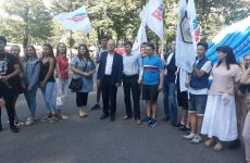 Дмитрий Судавцов принял участие в торжественных мероприятиях, приуроченных к Международному дню молодежи