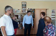 Дмитрий Судавцов встретился с руководством и членами трудового коллектива МБОУ гимназии N°9