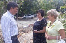 Дмитрий Судавцов встретился с жителями многоквартирного дома по улице Васильева краевой столицы