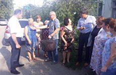 Дмитрий Судавцов совместно с Игорем Фаталиевым встретился с жителями 13 микрорайона города Ставрополя