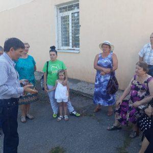 Дмитрий Судавцов встретился с жителями 15 микрорайона города Ставрополя