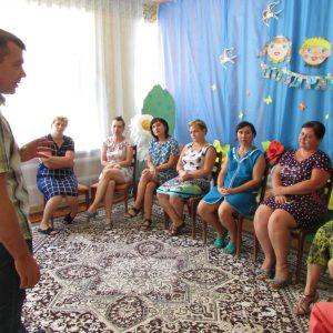 Андрей Юндин встретился с трудовыми коллективами дошкольных общеобразовательных учреждений Труновского муниципального района
