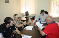Дмитрий Судавцов встретился с тренерами по бадминтону