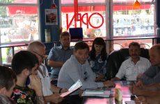 Дмитрий Судавцов провёл встречу с членами трудового коллектива Парка Победы