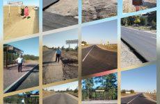 Партийцы провели мониторинг выполнения работ по реконструкции автомобильных дорог в Труновском районе