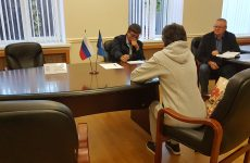 Дмитрий Судавцов провел прием граждан