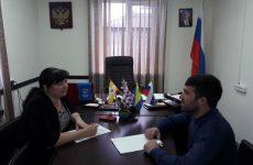 Председатель Совета Андроповского муниципального района Наталья Ярошенко провела прием граждан