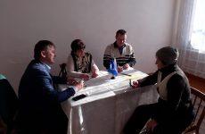 В с. Донская Балка состоялся прием граждан