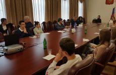 Дмитрий Судавцов провел тематическую встречу со студентами