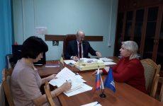 Глава Петровского городского округа А. А. Захарченко провел прием граждан
