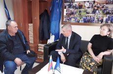В Петровской местной общественной приемной состоялся прием граждан