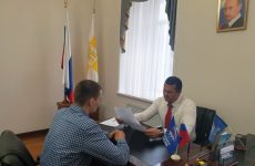 Евгений Пятак провёл приём граждан в краевой столице
