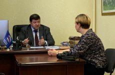 Председатель Думы Ставропольского края провел встречу в местной общественной приемной Буденновского района