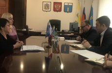 Роман Завязкин посетил Грачевский район с рабочей поездкой