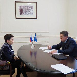 Член СФ ФС РФ Валерий Гаевский провёл личный приём граждан