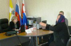 Краевой депутат, партиец Людмила Редько провела приём граждан в Красногвардейском районе